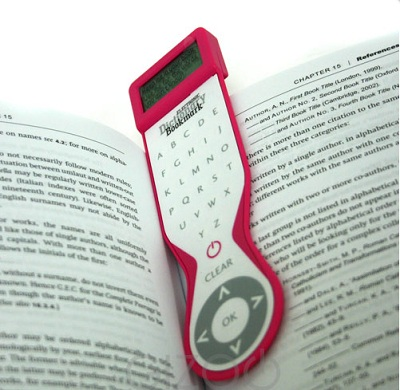 The Electronic Dictionary Bookmark - The Best Christmas Gift 2011 ...